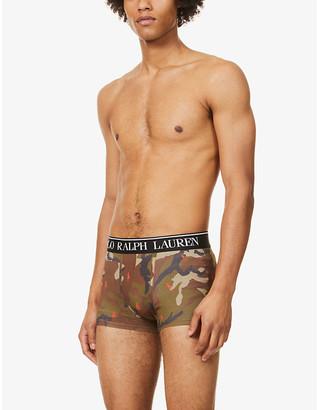 Polo Ralph Lauren Classic slim-fit stretch-cotton trunks