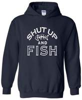 Artix Shut Up and Fish - Best Selling Fishing and Hunting Series Unisex Hoodie Sweatshirt