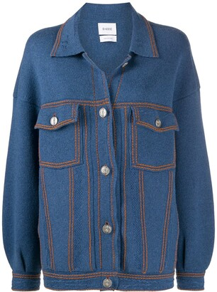 Barrie Knitted Buttoned Jacket