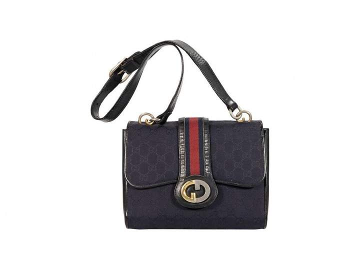 dc372bd5e56a65 Navy Leather Handbag - ShopStyle