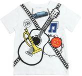 Stella McCartney Instruments Print Organic Cotton T-Shirt