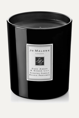Jo Malone Dark Amber & Ginger Lily Scented Home Candle, 200g - Colorless