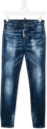 DSQUARED2 TEEN Twiggy jeans