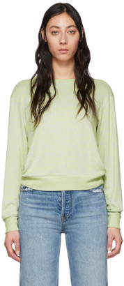 Rag & Bone Green Avryl Long Sleeve T-Shirt