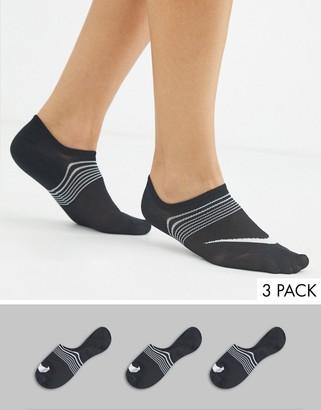 Nike Training lightweight sock in black