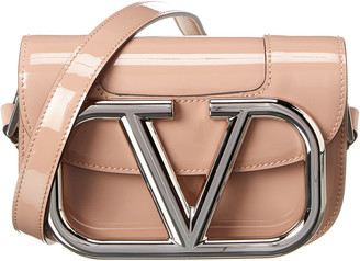 Valentino Supervee Small Patent Crossbody