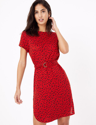 Marks and Spencer Confetti Belted Beach Dress