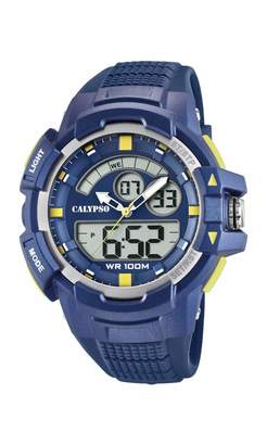 Calypso Watches Watches Unisex Adult Analogue-Digital Quartz Watch with Plastic Strap K5767/2