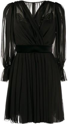 Dolce & Gabbana draped short dress