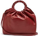 The Row Double Circle medium leather bag