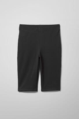 Weekday Maurice Bike Shorts - Black