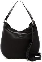 Rebecca Minkoff Convertible Leather Hobo Bag with Biker Studs