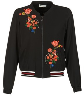 Desigual DERASERO women's Jacket in Black