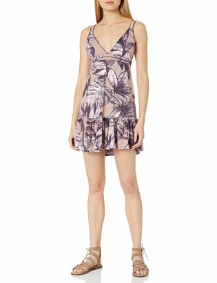 Maaji Women's Printed with Adjustable Straps Tank Dress Cover Up