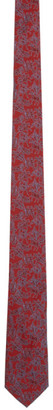 Salvatore Ferragamo Red Lovers Tie
