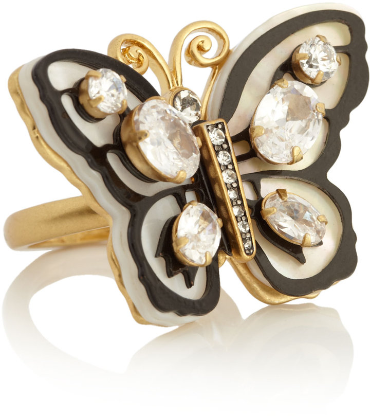 Juicy Couture Butterfly Stone Ring