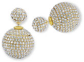 Jenny Packham Front Back Stud Earrings