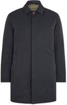 Thumbnail for your product : Valstar Leather-Trimmed Cotton-Blend Twill Down Trench Coat