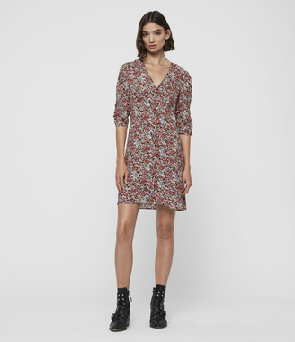 AllSaints Malie Wilde Dress