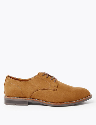 Marks and Spencer Wide Fit Lace-up Derby Shoes