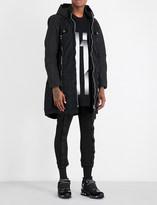 Boris Bidjan Saberi Folded cotton parka coat