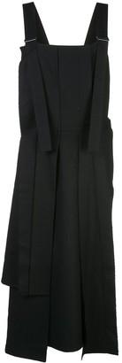Yohji Yamamoto Pleated Suspender Dress