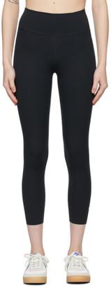 Nike Black One Lux Cropped Leggings