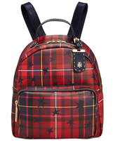 Tommy Hilfiger Julia Star Plaid Small Backpack