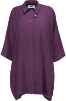 MM6 MAISON MARGIELA Oversized crepe shirt