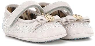 Roberto Cavalli Junior Strass Embellished Pre-Walker Shoes