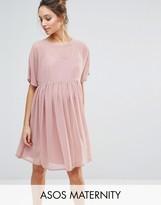 Asos Woven Smock Dress