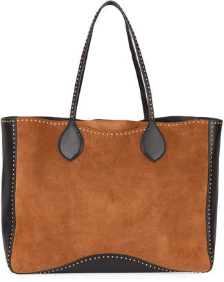 Rebecca Minkoff Pippa Studded Two-Tone Tote Bag