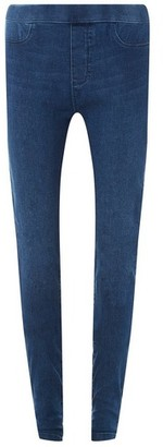 Dorothy Perkins Womens Tall Mid Wash Blue 'Eden' Jeans, Blue