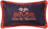 Thumbnail for your product : Emma J Shipley - Zambezi Boudoir Cushion - Wine