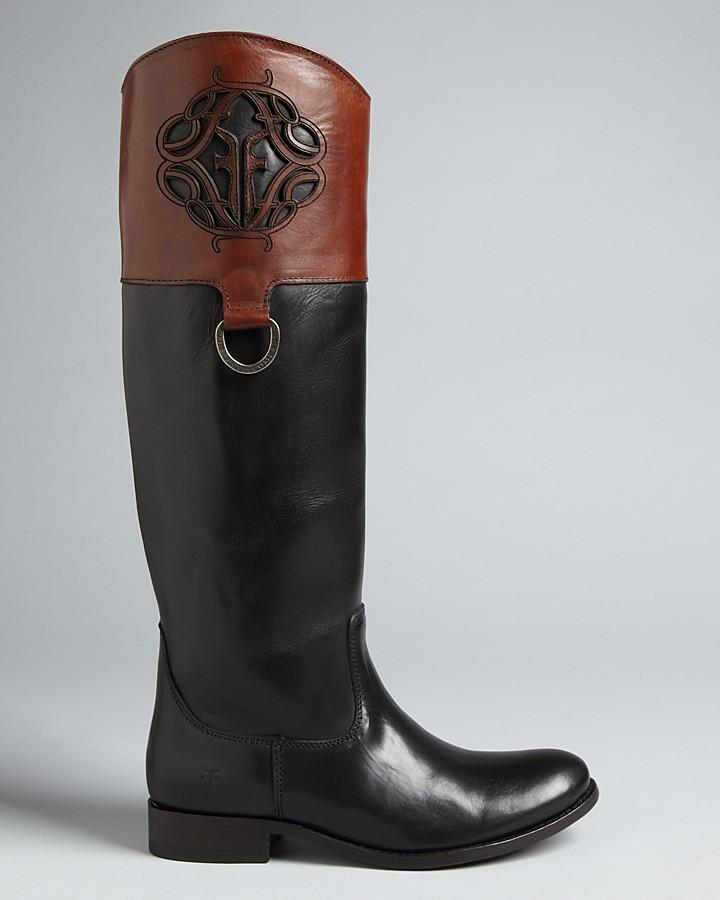 "Frye Melissa"" Riding Boots"