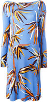 Emilio Pucci floral print dress - women - Silk/Viscose - 42