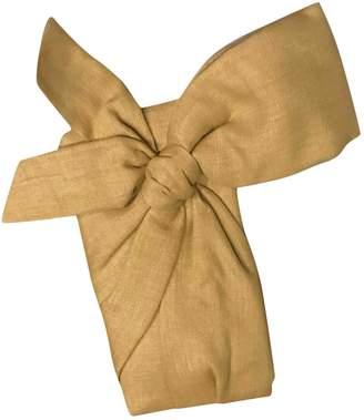 Valentino Beige Cloth Clutch bags