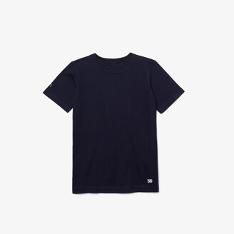 Lacoste Boys SPORT Collab Youssef Sy Print T-shirt