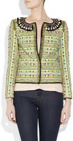 Matthew Williamson Tokyo embellished bouclé jacket