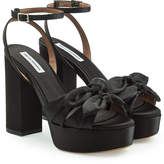 Tabitha Simmons Jodie Satin Platform Sandals