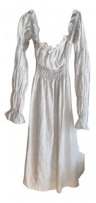 Sleeper White Linen Dresses