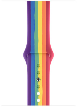 Apple 44mm Pride Edition Sport Band - Regular