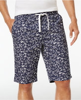 INC International Concepts Men's Swirl-Print Cotton Shorts, Created for Macy's