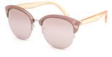 Full Tilt Sorbet Cateye Clubmaster Sunglasses