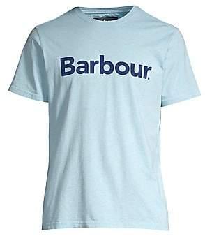 Barbour Men's Tartan Collection Ardfern Cotton Logo Tee