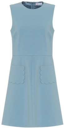 RED Valentino Stretch-crepe dress