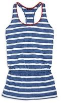 Splendid Girls' Chambray Stripe Beach Dress Cover Up - Big Kid