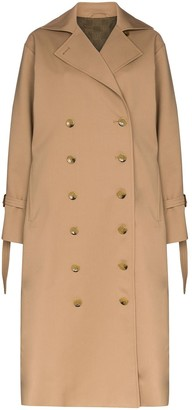Totême Double-Breasted Trench Coat