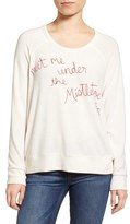 Sundry Women's Meet Me Under The Mistletoe Pullover