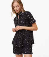 LOFT Starry Night Pajama Set